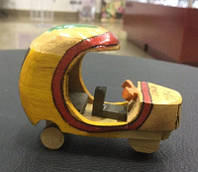 Деревянная моторикша