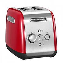 Тостер KitchenAid 5KMT221EER на два хлібці червоного кольору