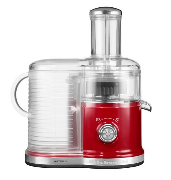 Соковыжималка для овощей и фруктов KitchenAid 5KVJ0333EER, настольная, 2 скорости, красная