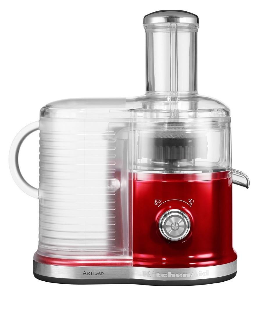 Соковыжималка для овощей и фруктов KitchenAid 5KVJ0333ECA, настольная, 2 скорости, карамельное яблок