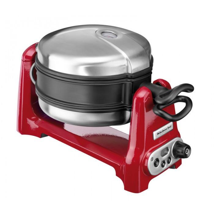 Вафельница KitchenAid 5KWB110EER, красная