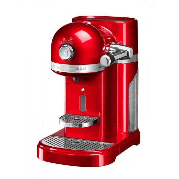 Кофемашина KitchenAid Nespresso Artisan 5KES0503EER, капсульная, 1.4 л, красная