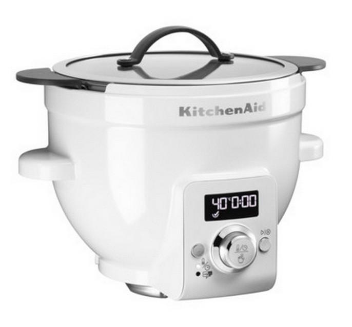 Электрическая чаша для смешивания с функцией точного нагрева KitchenAid IKSM1CBEL  6.9 л