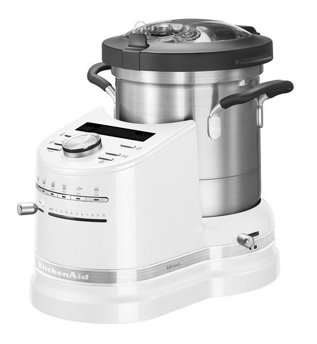 Универсальный кухонный комбайн - процессор Китчен Эйд KitchenAid Artisan 5KCF0103EFP, морозный жемчу