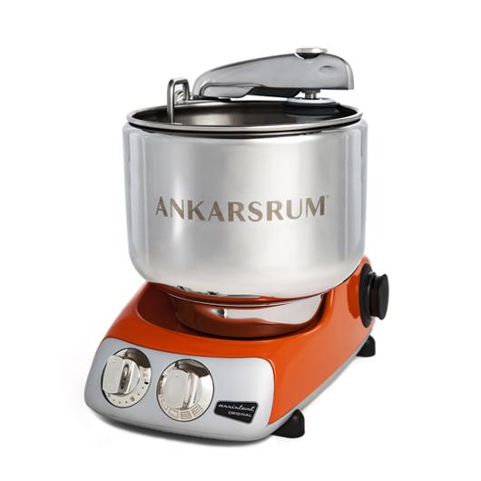 Тестомес Ankarsrum АКМ6220PO Original Assistent Basic тестомесильная машина, оранжевый