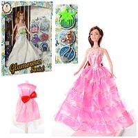 Кукла с нарядом и аксессуарами 9916-CD, 2 вида