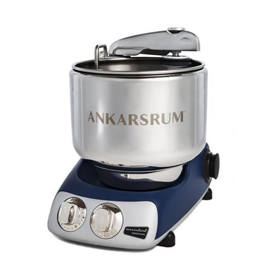 Кухонный процессор Ankarsrum АКМ6220RB Original Assistent Basic тестомес, синий