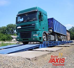 Весы для грузовых автомобилей 60т безфундаментные 18м АКСИС 60-18-К-П