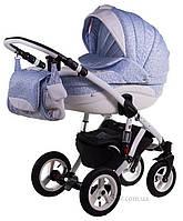 Универсальная коляска Adamex Aspena 723S голубой