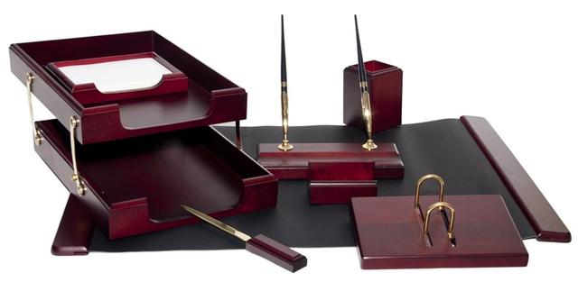 Подарочный набор настольный из дерева BESTAR 8259XDU красное дерево (8 предметов)