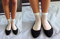 Капроновые носки однотонные