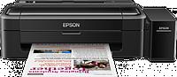 Струйный принтер Epson L130 со встроенным оригинальным СНПЧ + 4х100 мл сублимационные чернила InkTec