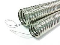 Металлорукав (гибкий трубопровод изготовленный из стальной оцинкованной ленты) Р-ЗЦ-11 (50м)