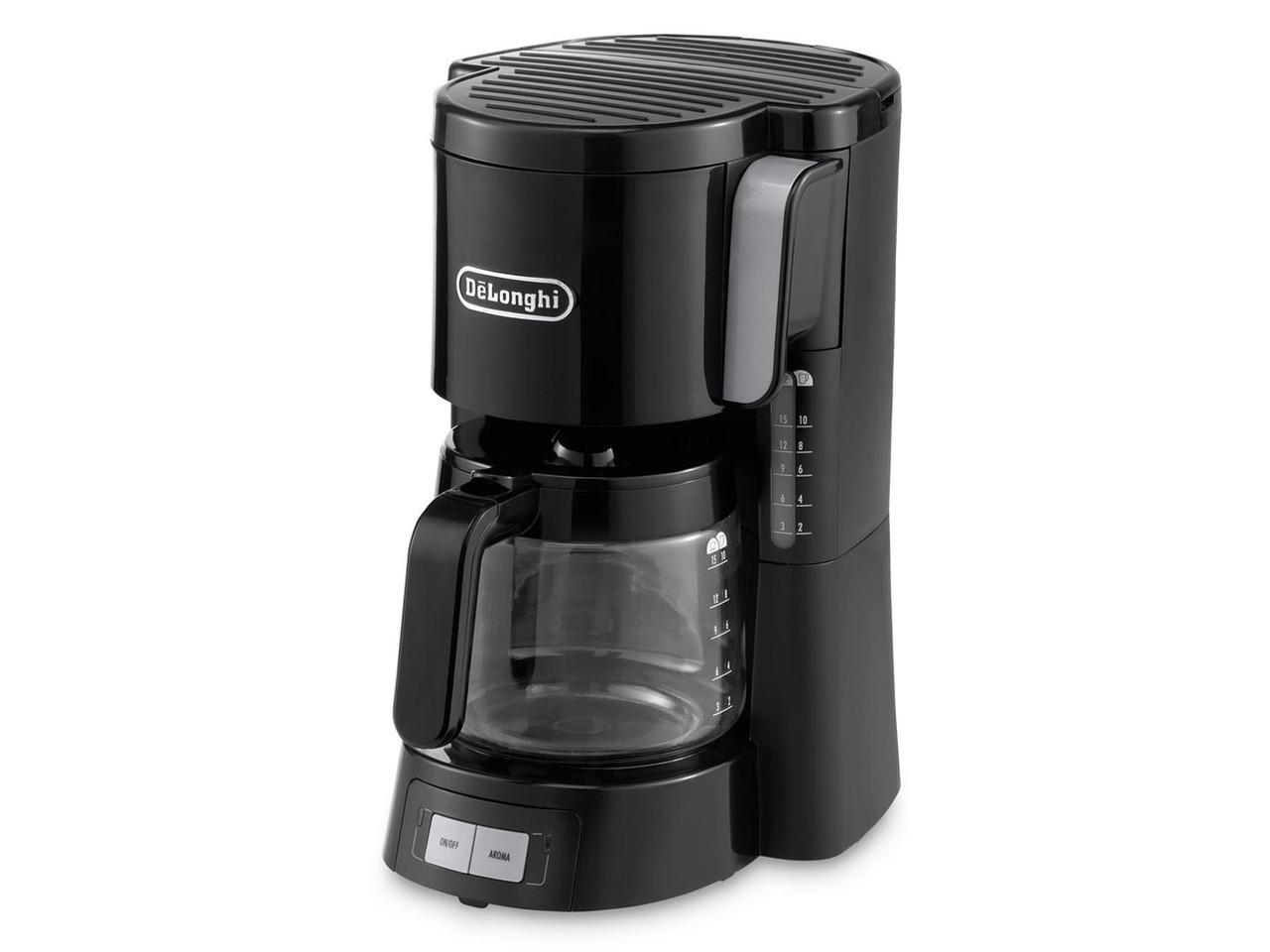 Капельная кофеварка DeLonghi ICM15240.BK