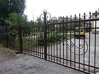 Кованые ворота арт.в 2