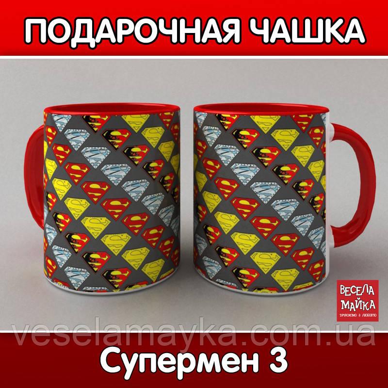 "Чашка ""Супермен (SuperMan) 3"""