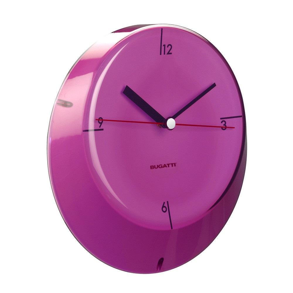 Часы для дома Casa Bugatti GLLU-02190, цвет лиловый
