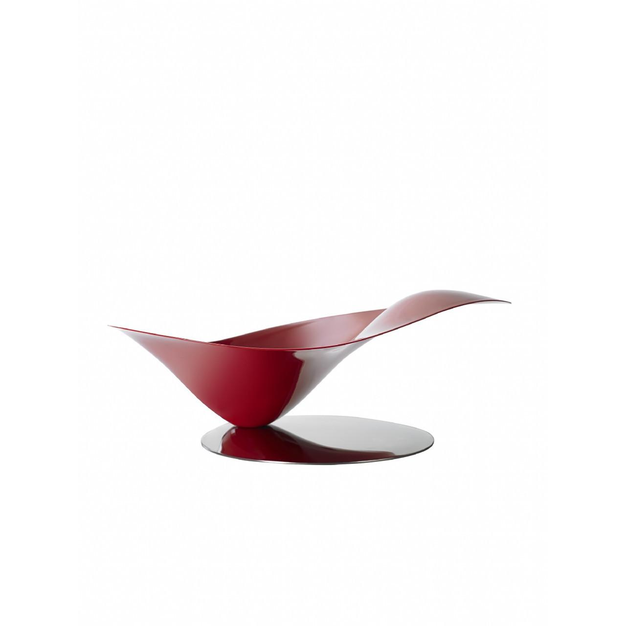 Ваза для фруктов Casa Bugatti 21-PETALOI3, цвет красный