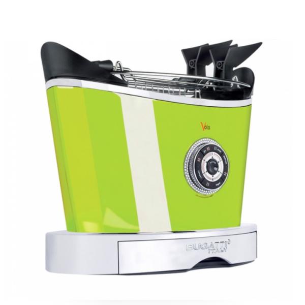 Тостер  Casa Bugatti 13-VOLOSW4/CMUK Dettagli di luce , цвет зеленый