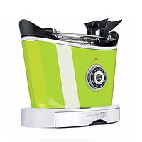 Тостер  Casa Bugatti 13-VOLOSW4/CMUK Dettagli di luce , цвет зеленый, фото 1