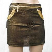 Юбка женская LiT&Go 898 бронза S,M,L,XL