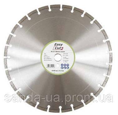 Диск алмазный сегментний 650х35/25.4х10 CEDIMA , EC100, Easy-Cut,