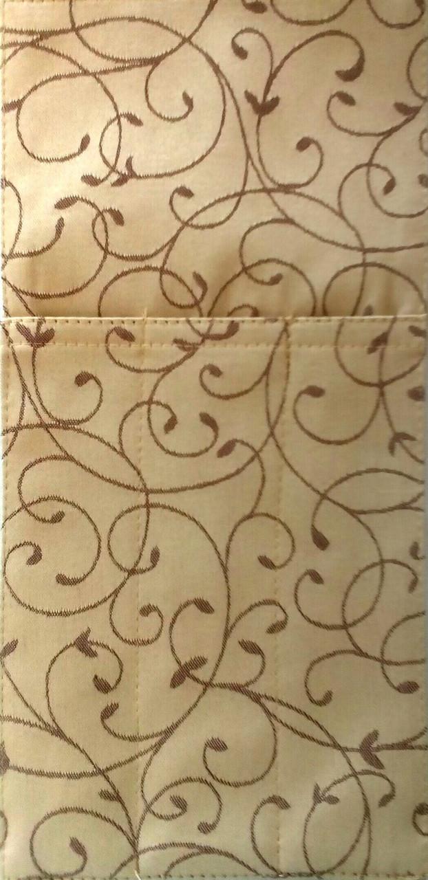 Куверт (конверт)  на 3 прибора , ткань Мати рис. 1812 Биколор.