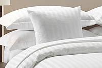 Семейный комплект постельного белья сатин Страйп-сатин