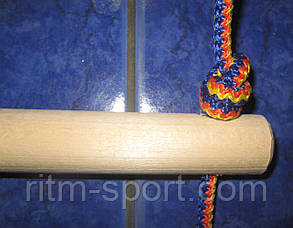 Драбина мотузкова навісна 6 ступенів, 160 см, фото 2
