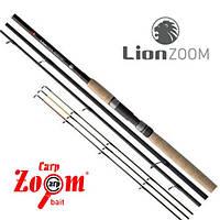 Фидер LionZoom Heavy Plus Feeder rod, 360cm, 70-140g