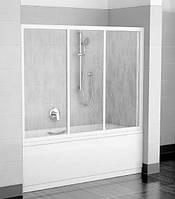 Раздвижная дверь для ванны Ravak AVDP3-120 белая Transparent (40VG0102Z1)