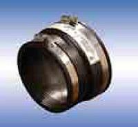 Патрубок резиновый для соединения трубы ПВХ с керамической трубой