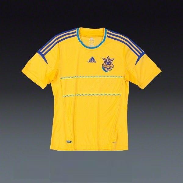 Игровая клубная футболка сборной Украины Adidas FFU HomeJersey