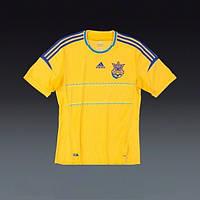 Игровая клубная футболка сборной Украины Adidas FFU HomeJersey, фото 1