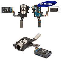 Коннектор handsfree для Samsung Note 3 N900 / N9000 / N9006, с динамиком, со шлейфом, оригинал