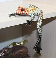 Фарфоровая фигурка Лягушка (Pavone)