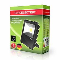 Прожектор c радиатором 10W 6500K LED COB  EUROELECTRIC 10W 6500K