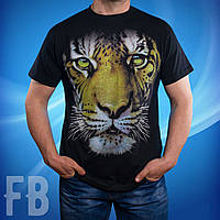 Мужская футболка с тигром 3D