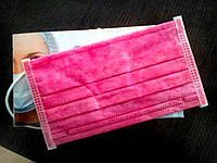 Медицинские маски розовые