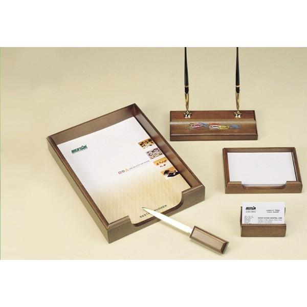 Подарочный набор настольный из дерева BESTAR 5159XD  (5 предметов)