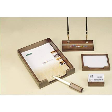 Подарочный набор настольный из дерева BESTAR 5159XD  (5 предметов), фото 2