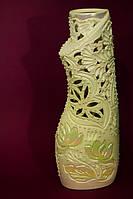Красивая ваза невеста резка Свиток