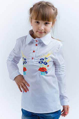 Детская рубашка вышиванка на девочку, фото 2