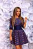Платье женское на спинке зазтёжка-молния, фото 3