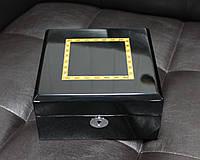 Деревянная шкатулка для часов на 6 отделений Rothenschild RS-803-6B