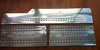 Хромированные накладки пороги для Sprinter W 901 (сталь, 3шт.)