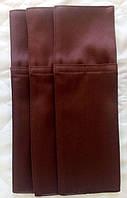"""Куверт (конверт),на 2 прибора,тк.""""Декор дукат""""коричневый."""