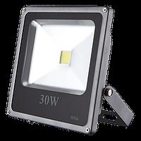 Светодиодный прожектор 30Вт, 1950Лм, 6500К холодный белый ECO  LEDEX