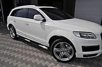 Audi Q7 Боковые трубы d42 без пластиковых вставок