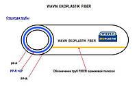 Труба полипропиленовая EKOPLASTIK FIBER PN16